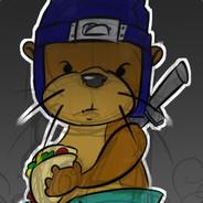 Ninja Otter With A Taco